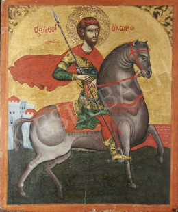 Greek Ikonpainter, The Early 19th Century - St. George, Greek Ikon, The Early 19th Century