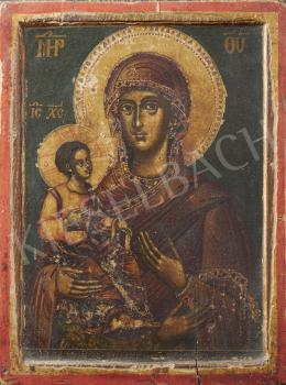 Bulgár ikonfestő, 19. század - Bulgár ikon, 19. század
