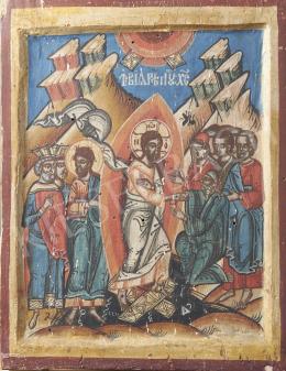 Szerb ikonfestő, 19. század - Szerb népi ikon, 19. század