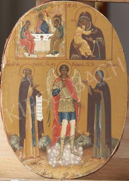 Görög ikonfestő, 19. század - Szent János, görög ikon, 19. század