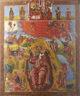Ismeretlen ikonfestő, 19. század - Illés próféta, ikon, 19. század