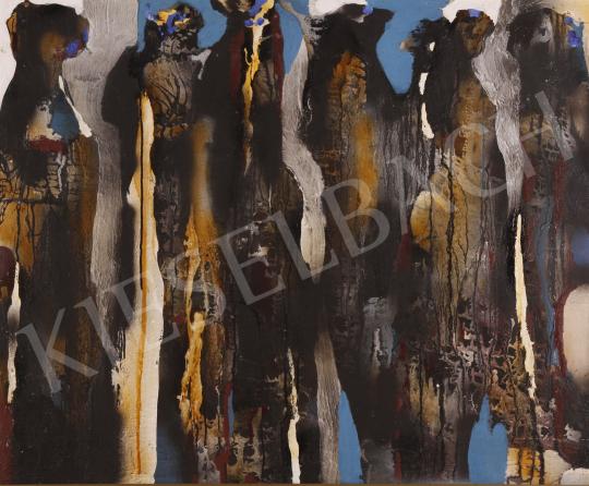 Eladó Scholz Erik - Akik elmennek, 1992 festménye