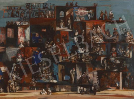 Eladó Scholz Erik - Meztelen ház festménye