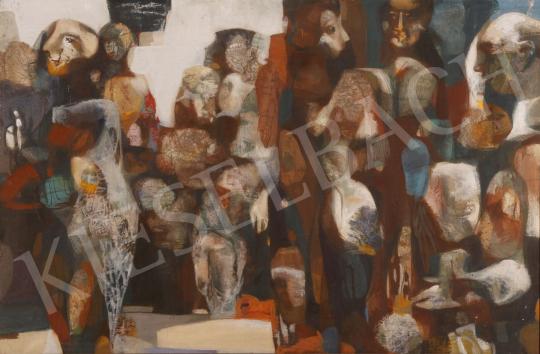 Eladó Scholz Erik - Valahol volt, 1983 festménye
