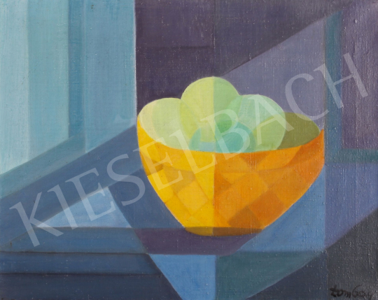For sale  Dombay, Lelly (Dombay Lelli, Dornis Istvánné) - Still Life of Fruits 's painting