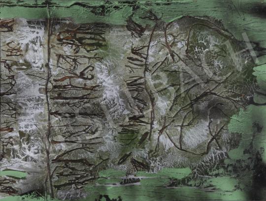 Eladó Scholz Erik - Az erdő üzenete (Hypha), 1990 festménye