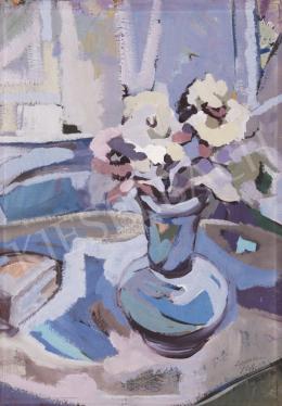 Bertalan Ferenc - Virágcsendélet, 1968