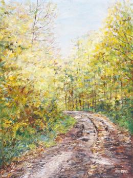 Orvos András - Őszi erdő