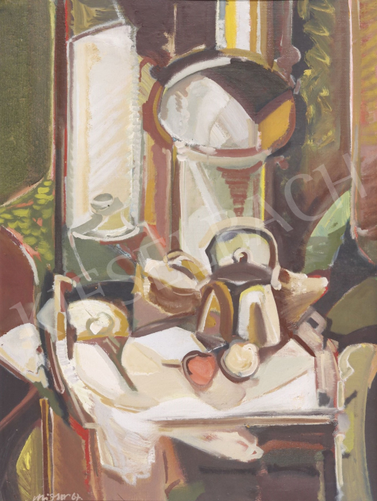 For sale Mizser, Pál - Still Life, 1967 's painting