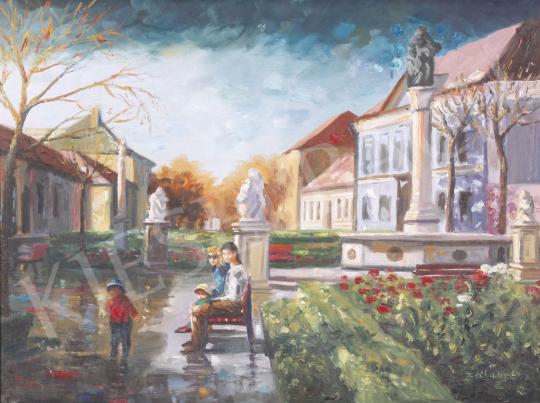Eladó  Zalubel István - Vác festménye