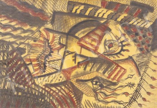 Eladó Nagy Balázs Cs. - Cím nélkül, 1993 festménye