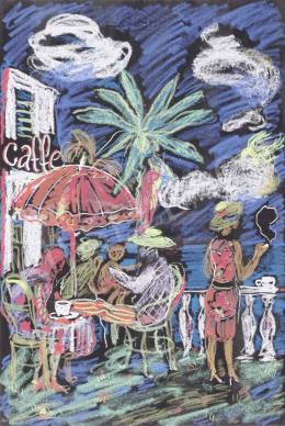 Vilhelm Károly - Mediterrán kávézó