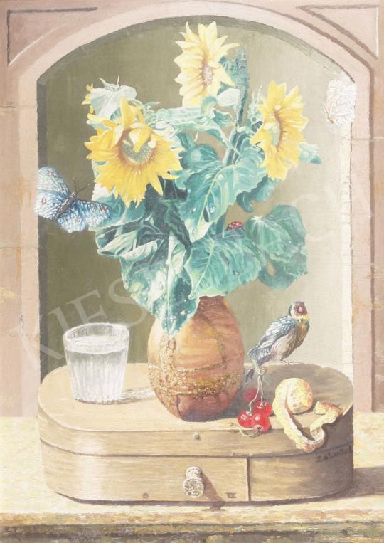 For sale  Zalubel, István - Still Life 's painting