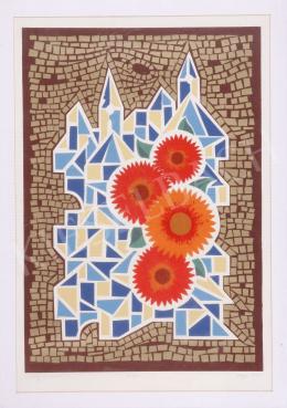 Hegyi, György (Schönberger György) - Flower and City, 1987