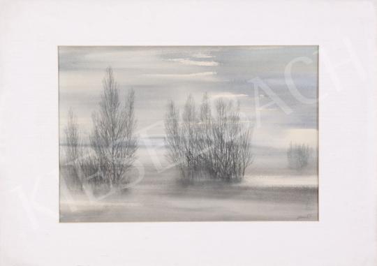 For sale  Nemes, Tibor - Wintry Landscape 's painting
