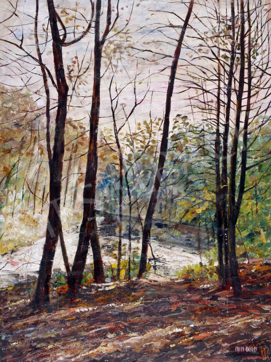 Eladó Orvos András - Erdő széle festménye