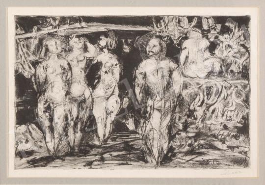 For sale Scholz, Erik - Female Figures 's painting