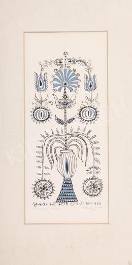 Szekeres Erzsébet - Búzavirág életfa, 1989