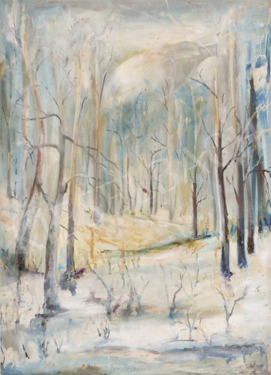 Eladó  Toman Gyula - Téli Börzsöny festménye
