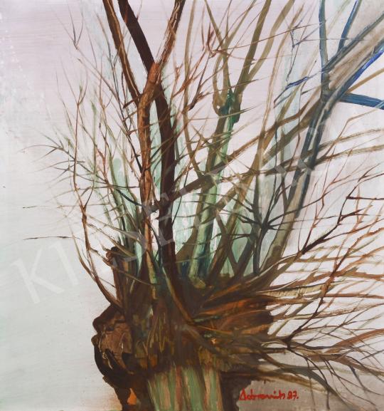 Eladó  Ismeretlen festő Dobrovits jelzéssel - Fűzfa, 1997 festménye