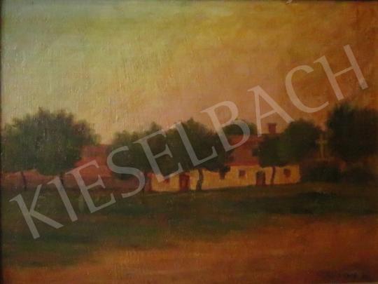 For sale Bánk, Ernő - Farm, 1914 's painting