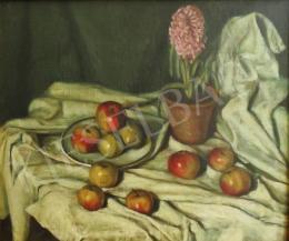 Bánk, Ernő - Still Life with Hyacinth, 1913