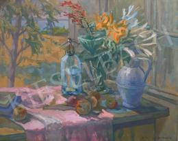 Csáki-Maronyák, József - Still Life with Soda Water