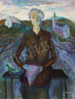 Mersits Piroska - Asszony a falu végén