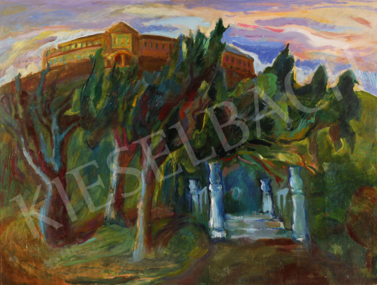 For sale  Mersits, Piroska - Castle 's painting