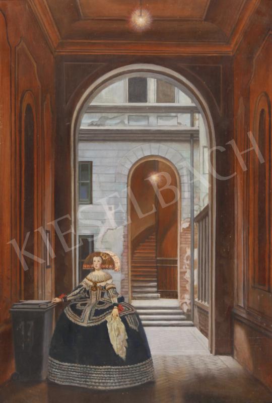 Mácsai István - Báthory u. 17.  festménye