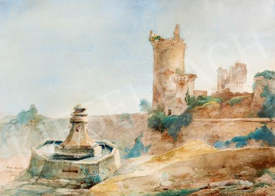 Eladó Forray Iván - Nepi romjai Olaszhonban, 1842 festménye