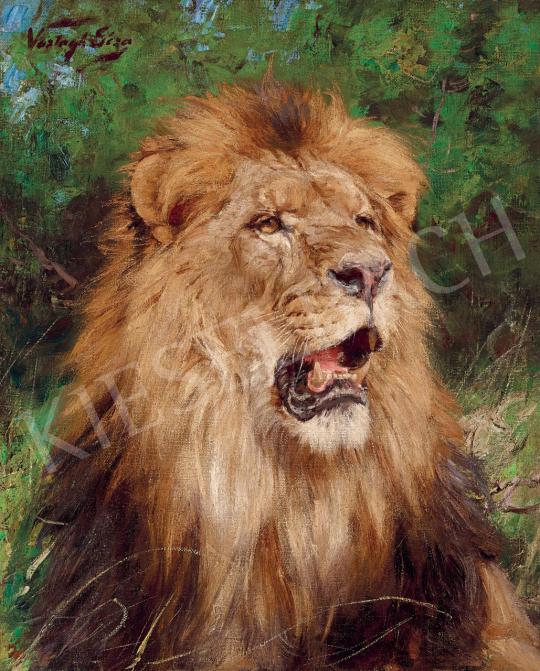 Vastagh Géza - Oroszlán (Afrika) | 55. Tavaszi Aukció aukció / 1 tétel