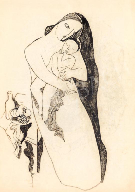 Kádár Béla - Art deco Madonna | 55. Tavaszi Aukció aukció / 5 tétel
