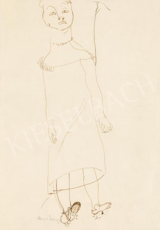 Anna Margit - Álmodozó önarckép luftballonnal, 1930-as évek második fele | 55. Tavaszi Aukció aukció / 6 tétel