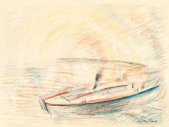 Egry József - Fények a Balatonon | 55. Tavaszi Aukció aukció / 10 tétel