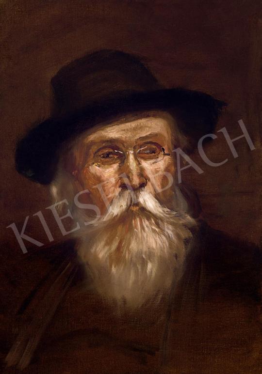 Mednyánszky László - Rabbi   55. Tavaszi Aukció aukció / 14 tétel