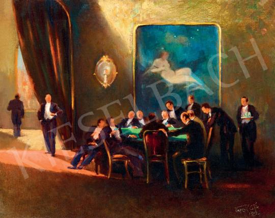 Faragó Géza - Pókerparti, 1927 | 55. Tavaszi Aukció aukció / 20 tétel
