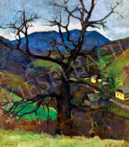 Krizsán, János - Landscape in Nagybánya, 1931