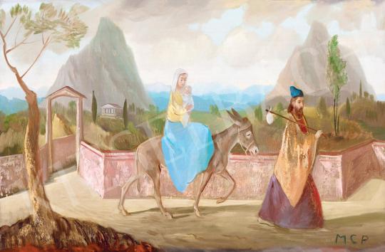 Molnár C. Pál - Menekülés Egyiptomba | 55. Tavaszi Aukció aukció / 29 tétel