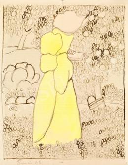 Rippl-Rónai József - Olvasó lány kertben, 1896