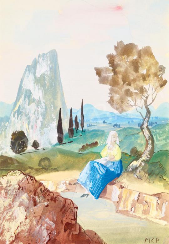Molnár C. Pál - Itáliai Madonna | 55. Tavaszi Aukció aukció / 58 tétel