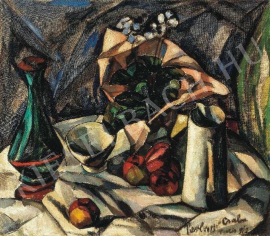 Perlrott Csaba Vilmos - Csendélet, 1912 festménye