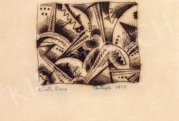 Bortnyik Sándor - Absztrakt kompozíció, 1917