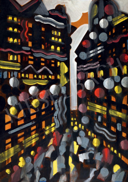 Scheiber Hugó - Nagyvárosi fények, 1930-as évek