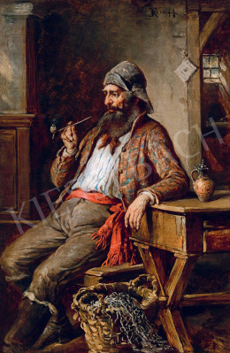 Kern Hermann - Pipázó halász
