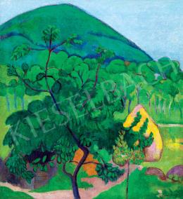 Schönberger, Armand - Nagybánya Landscape with Kereszthegy, c. 1909