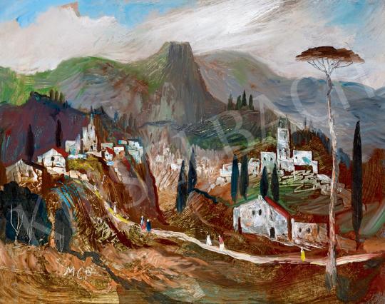 Molnár C. Pál - Itáliai táj | 55. Tavaszi Aukció aukció / 110 tétel