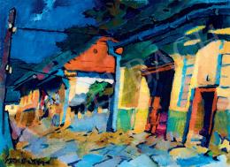 Nagy Oszkár - Napsütötte házak Nagybányán