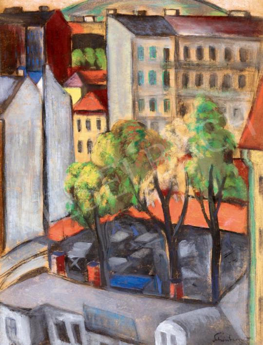 Schönberger Armand - Pesti kertvendéglő   55. Tavaszi Aukció aukció / 120 tétel