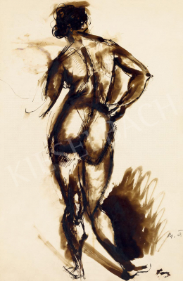 Márffy, Ödön - Back Nude, c. 1911